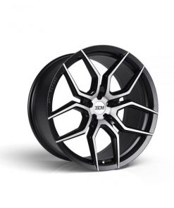 3SDM wheels 0.50 Matte Black / Brushed Face