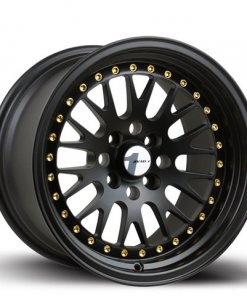 Avid 1 wheels AV-12 Black Gold Rivets