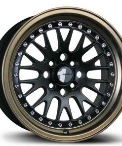 Avid 1 wheels AV-12 Matte Black Bronze Lip