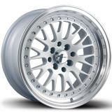Avid 1 wheels AV-12 White Polished Lip
