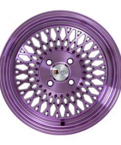 F1R wheels F01 Machined Purple