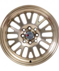 F1R wheels F04 Machined Bronze