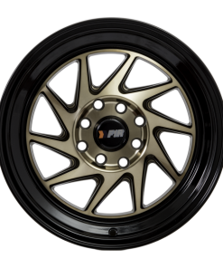F1R wheels F07 Bronze Black Lip