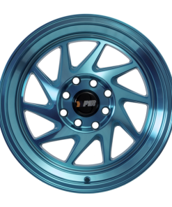 F1R wheels F07 Machined Teal