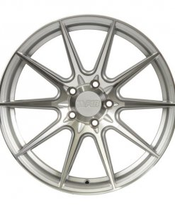 F1R wheels F101 Machined Silver