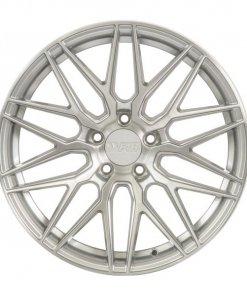 F1R wheels F103 Brushed Silver