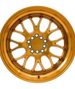 F1R wheels F21 Machined Gold
