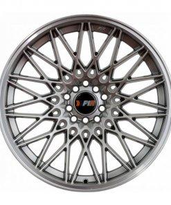 F1R wheels F23 Hyper Black Polished Lip