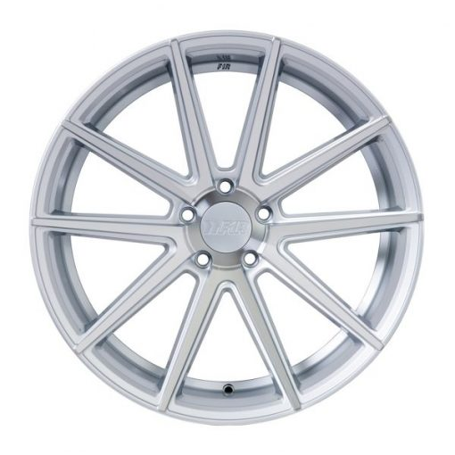F1R wheels F27 Machined Silver
