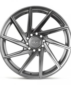F1R wheels F29 Hyper Black Polished Lip