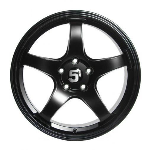 5zero wheels Z18 Matte Black