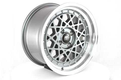 MST wheels Fiori Gun Metal Machined Lip