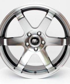 MST wheels MT01 Black Machined Face