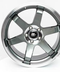 MST wheels MT01 Gun Metal Machined Lip