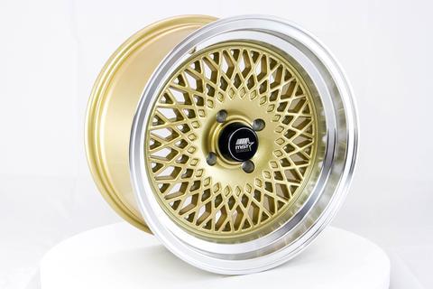 MST wheels MT05 Gold Machined Lip