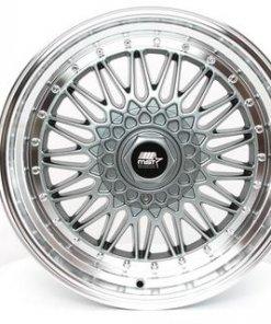 MST wheels MT13 Gun Metal Machined Lip