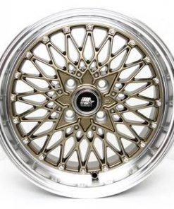 MST wheels MT16 Bronze Machined Lip