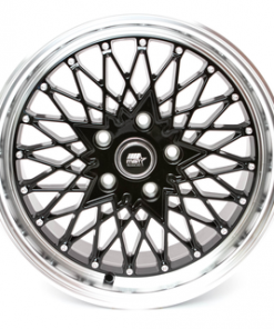 MST wheels MT16 Black Machined Lip