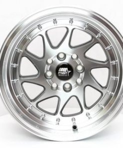 MST wheels MT28 Gun Metal Machined Lip