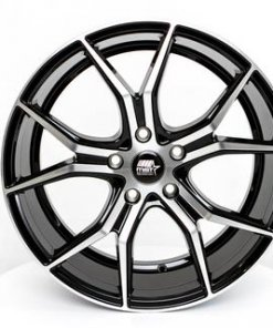 MST wheels MT37 Black Machined Face