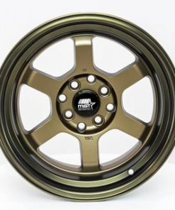 MST wheels Time Attack Matte Bronze Bronze Machined Lip