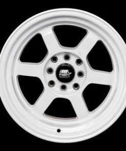 MST wheels Time Attack Gloss White