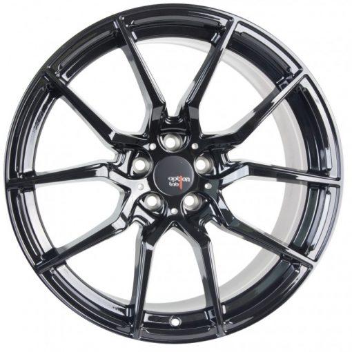 Options Lab wheels R716 Gotham Black