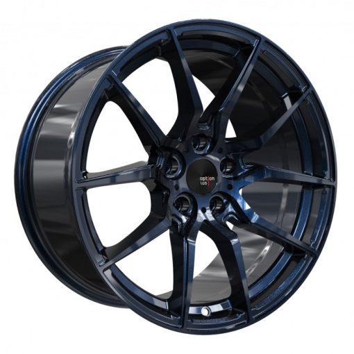 Options Lab wheels R716 Midnight Blue