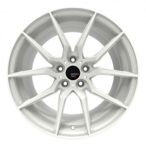 Options Lab wheels R716 Onyx White