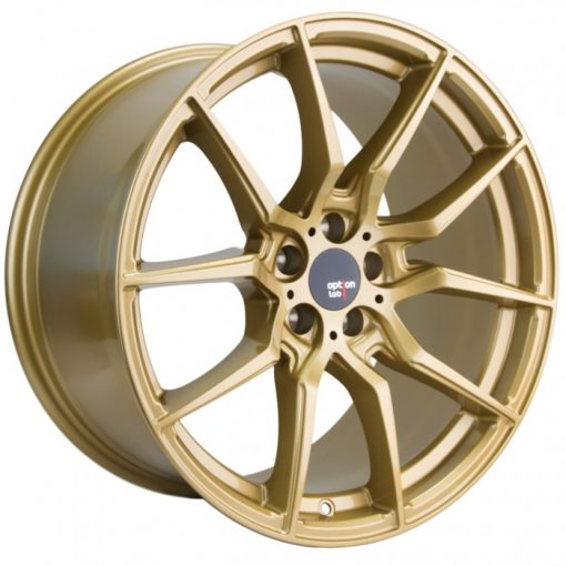 Options Lab wheels R716 Top Secret Gold