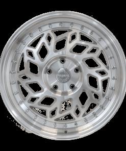 Regen5 wheels R32 Silver Machined Polished Lip