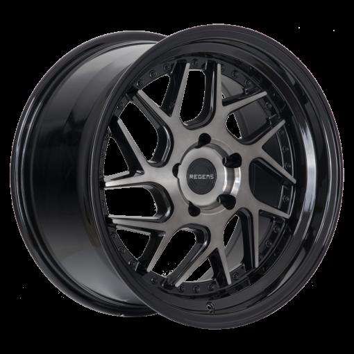 Regen5 wheels R33 Smoked Carbon Black Lip