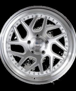 Regen5 wheels R33 Silver Machined Polished Lip