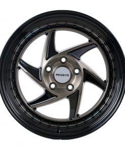 Regen5 wheels R34 Smoked Carbon Black Lip