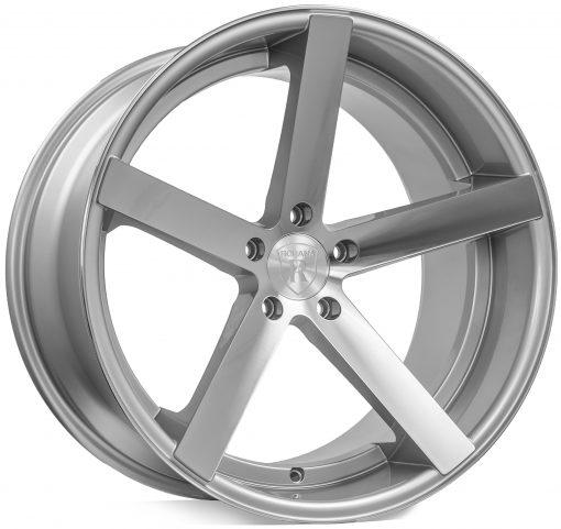 Rohana wheels RC22 Machined Silver