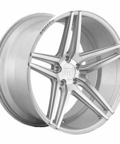 Rohana wheels RC8 Machined Silver