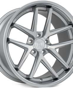 Rohana wheels RC9 Machined Silver Stainless Lip
