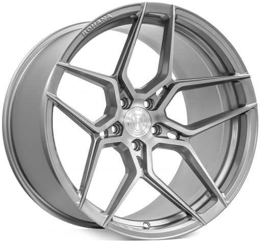 Rohana wheels RFX11 Brushed Titanium