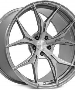 Rohana wheels RFX5 Brushed Titanium