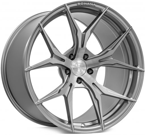 Rohana wheels RFX5 Brushed Titanium