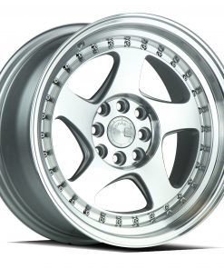 AH01 AH01 15X8 4X100/114.3 Silver Machined