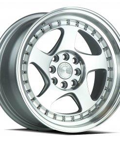 AH01 AH01 16X8 4X100/114.3 Silver Machined