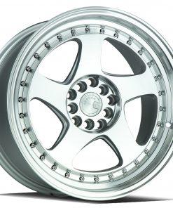 AH01 AH01 17X9 5X100/114.3 Silver Machined