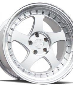 AH01 AH01 18X10.5 5X114.3 Silver Machined