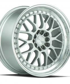 AH02 AH02 17X8 5X100/114.3 Silver Machined Lip