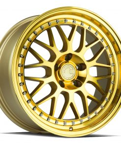AH02 AH02 18X8.5 5X114.3 Machined Gold