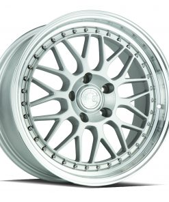 AH02 AH02 18X8.5 5X120 Silver Machined Lip