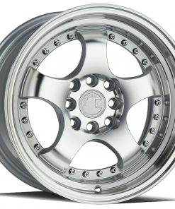 AH03 AH03 15X8 4X100/114.3 Silver Machined