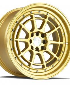 AH04 AH04 15X8 4X100/114.3 Gold