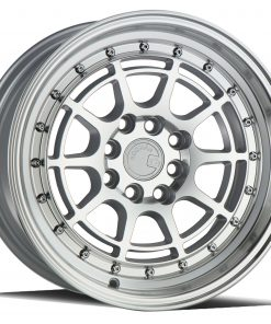 AH04 AH04 15X8 4X100/114.3 Silver Machined